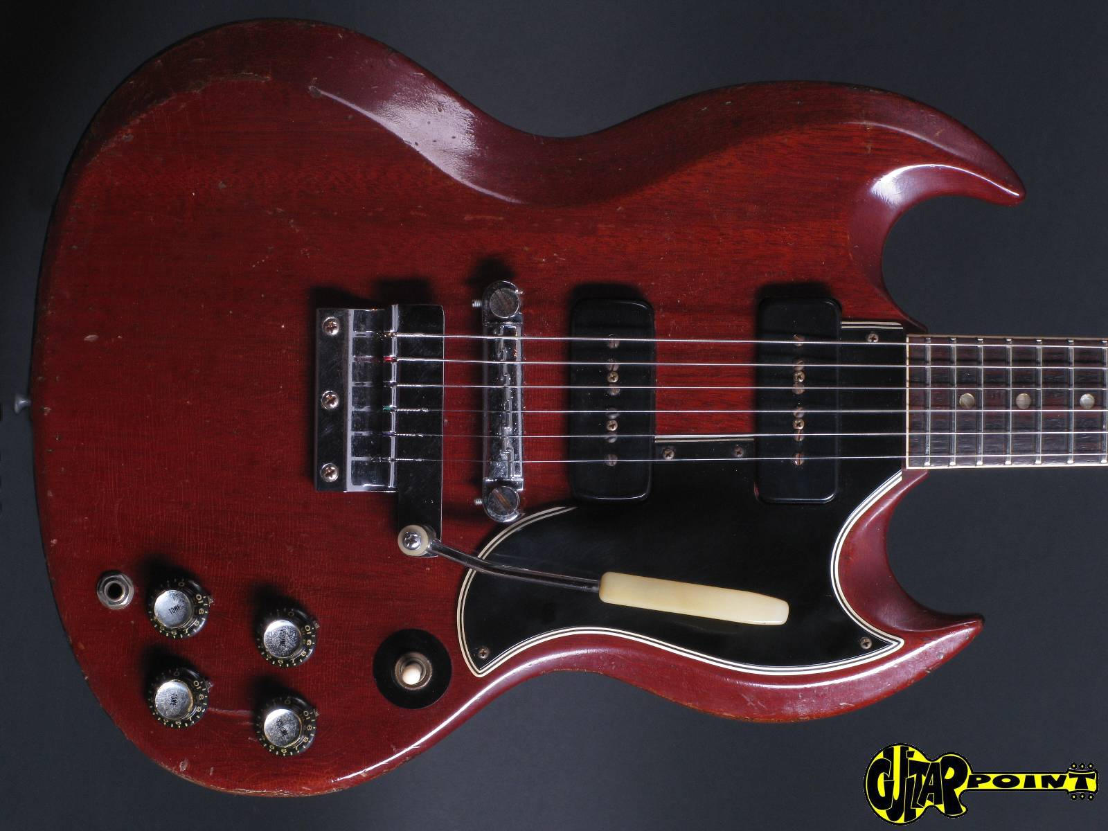 Possible to change the stock pickguard on my SG Classic to a