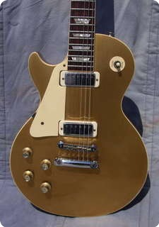 Gibson Les Paul Deluxe Gold Top Lefty 1974 Gold Top