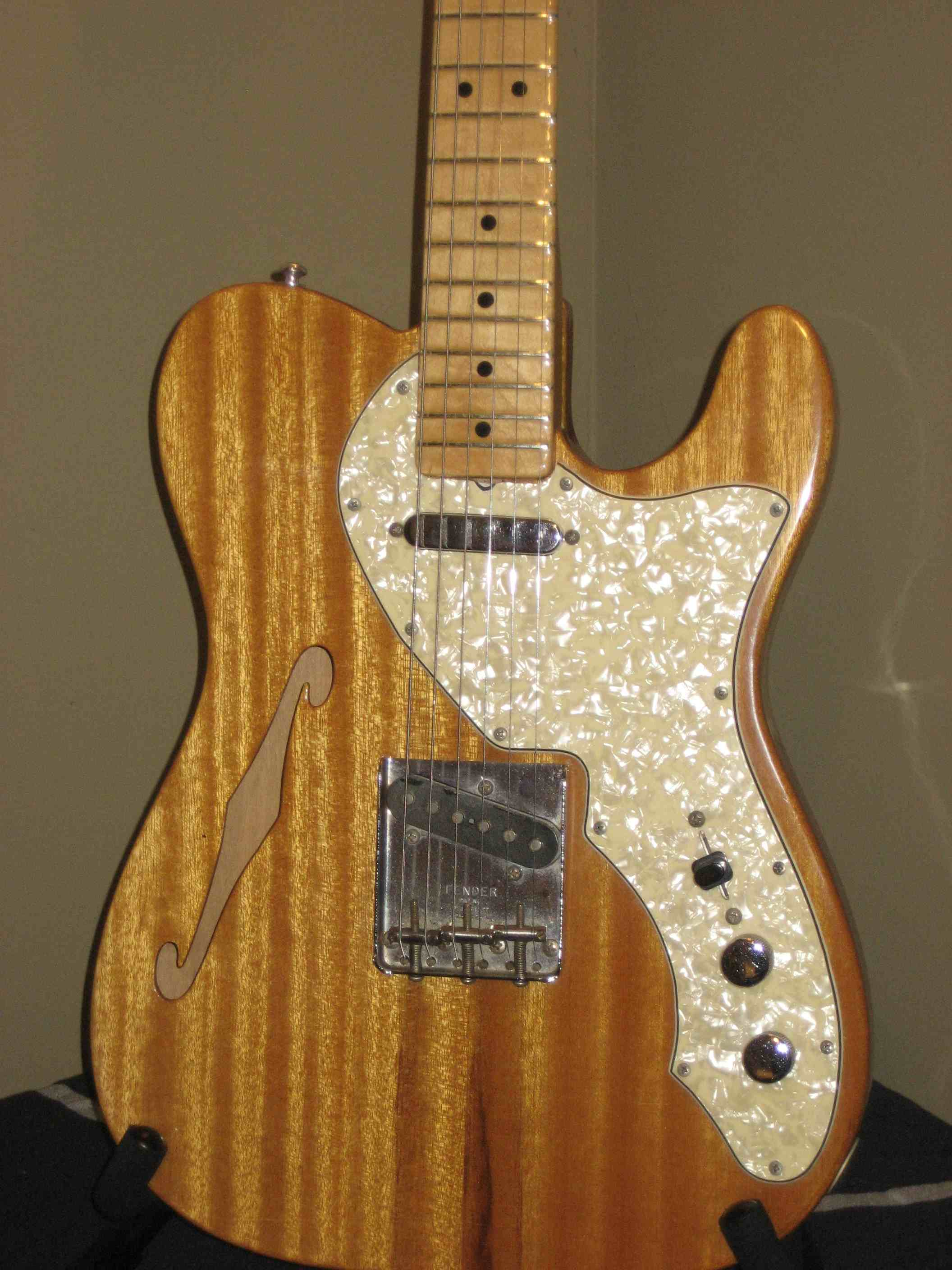 fender telecaster thinline 1968 mahogany guitar for sale pci music. Black Bedroom Furniture Sets. Home Design Ideas