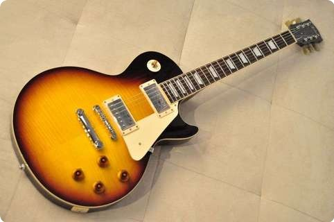 Tokai Japan Tokai Ls98  Made In Japan  Bs Flame  2013 Brown Sunburst