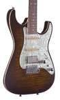 2012 Tom Anderson Drop Top Classic HSS Tiger Eye Burst Drop Top Classic 2012