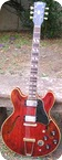 Gibson ES 345 TDC Stereo Varitone 1968 Cherry Red
