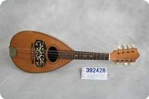 No Name Roundbelly Mandolin 1910