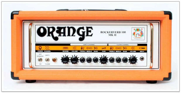 Orangw Rockerverb 100 Mkii Orange
