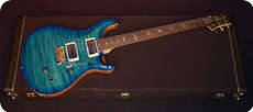 PRS Experience 2012 Custom 24 2012 Blue Crab Blue Burst
