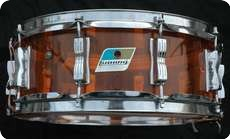 Ludwig Ludwig Vistalite Transparent Acryllic Shell In Orange