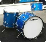 Ludwig Ludwig Shell Pack From The 70s Blue Sparkle