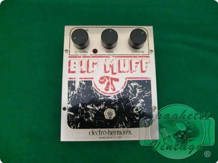 Electro Harmonix Big Muff Ram's Head Handmade Conversion By Vge 2013