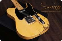 Fender Telecaster Heavy Relic Custom Shop CS 52 Blonde