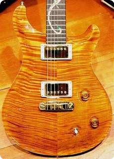 Prs Paul Reed Smith Dragon Ii Trans 1993 Yellow #30 Of 100 Made