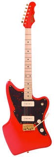 Fret King Stvdio Ventura 60  Coral Red