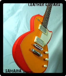 Leather Guitars Samaria   Sun Edition