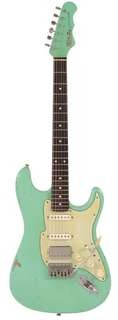 Fret King Stvdio Corona 60 Hb Aged Mint Green