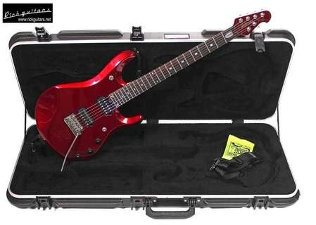 Musicman Petrucci   Piezo 2007 Candy Red