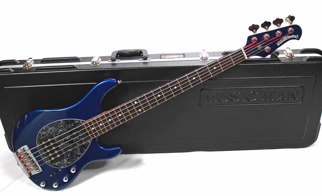 musicman sterling 5 bass for sale rickguitars. Black Bedroom Furniture Sets. Home Design Ideas