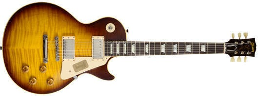 Gibson Custom Shop  Joe Perry Les Paul Vos Limited Edition 1959 Sunburst