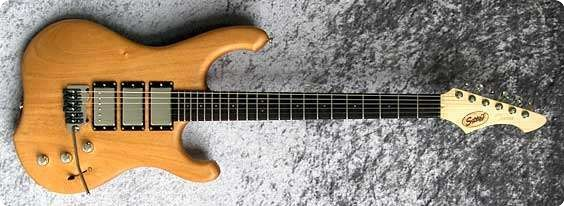 Schloff Guitars Incas 2010 Natural