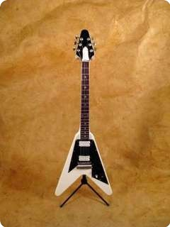 My Little Guitar Flying V White