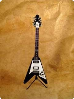 My Little Guitar Flying V Black