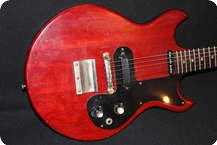 Gibson MELODY MAKER 1963 Cherry Red