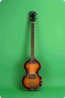 Klira Bass 1965 Sunburst