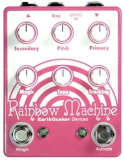 Earthquaker Devices Rainbow Machine Polyphonic Pitch Shifting/harmonizing/alien Aliasing Modulation Generator