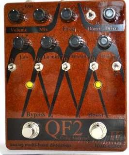 Iron Ether Qf2 Analog Multiband Distortion Copper = Bass