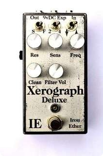 Iron Ether Xerograph Deluxe Envelope Filter