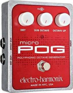 Electro Harmonix Micro Pog Polyphonic Octave Generator