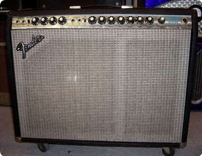 Fender Vibrosonic Reverb 1972 Black