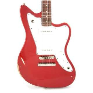 Fano Jm6 Candy Apple Red Medium Distress