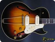Gibson ES 295 Ex. Eric Clapton 1953 Sunburst