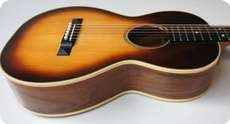 Bosma Guitars No Martin BOSMA SPRUCE And WALNUT PARLOR GUITAR 2013 Sunburst