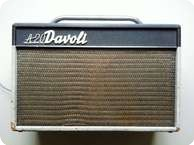 Davoli A20 TWIN AMPLIFIER 1964 Grey