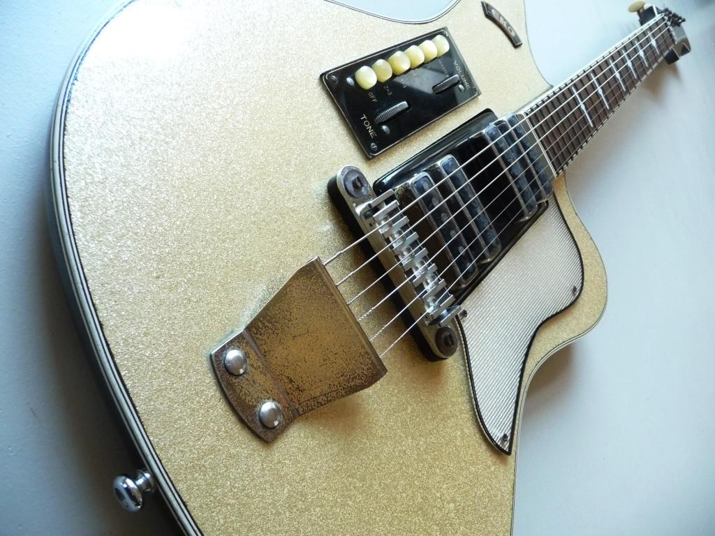 vintage guitar new 146 vintage eko guitar parts. Black Bedroom Furniture Sets. Home Design Ideas