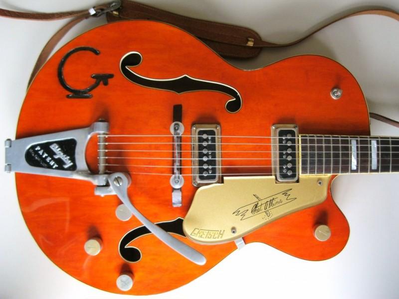 gretsch 6120 chet atkins hollowbody 1956 0 guitar for sale classic rock guitars. Black Bedroom Furniture Sets. Home Design Ideas