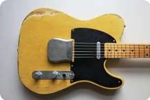 Fender TELECASTER BLACKGUARD 54 CUSTOM SHOP BUTTERSCOTCH RELIC