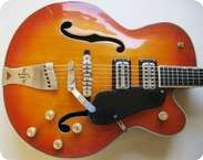 Gretsch 61016193 COUNTRY CLUB 1958 Natural Sunburst