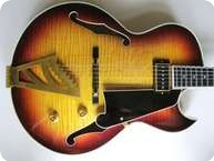 Dangelico II JAZZ ARTIST 1989 Sunburst