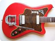 Eko 500 2V Custom 1964 Red Sparkle