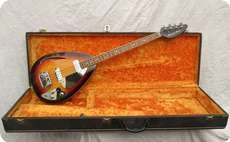 Vox Teardrop Bill Wyman Bass 1967 Sunburst