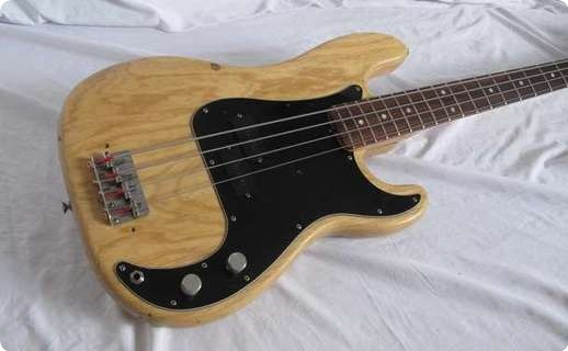 Fender Precision Bass 1976 Natural (stripped)