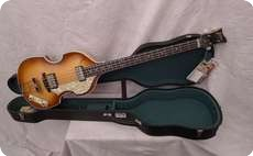Hofner 5001 Vintage Violin Bass 62 Sunburst