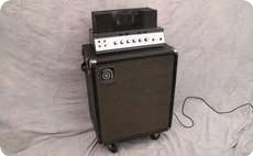 Ampeg B15N 1972 Black Tolex