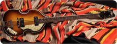 Hofner 5001 Beatle Bass 1965 SUNBURST