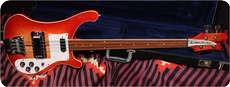Rickenbacker 4001 FRETLESS ON HOLD 1974 FIREGLO