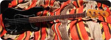 Fender P Bass 1980 Black