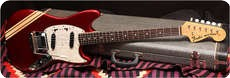 Fender Mustang 1972 Competition Red
