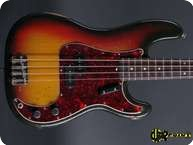 Fender Precision Bass 1971 3 tone Sunburst