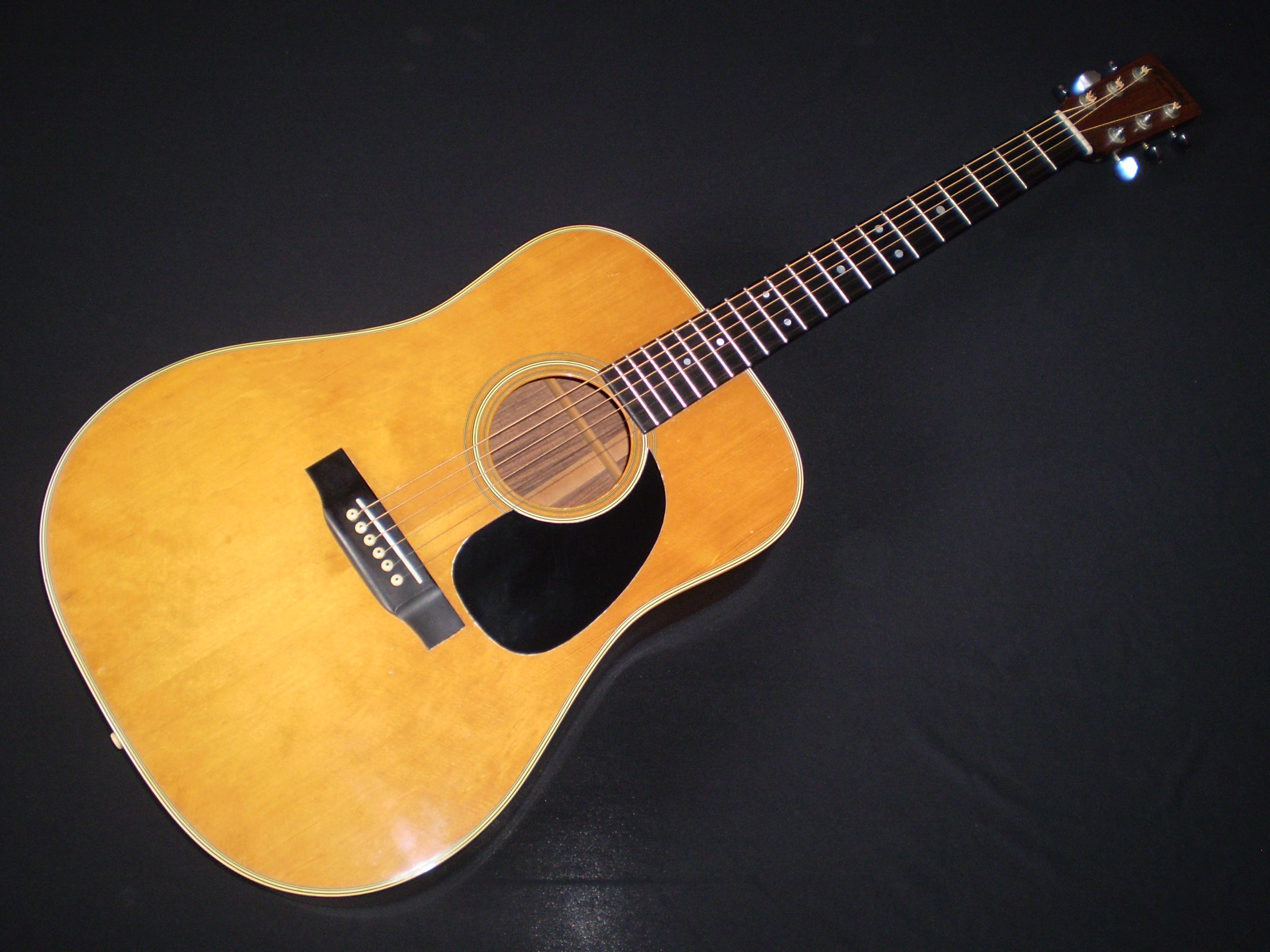 martin d28 1973 natural guitar for sale glenns guitars. Black Bedroom Furniture Sets. Home Design Ideas